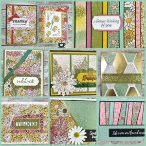 Ornate Garden Designer Paper Showcase