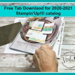 Tab for the 2020-2021 Stampin