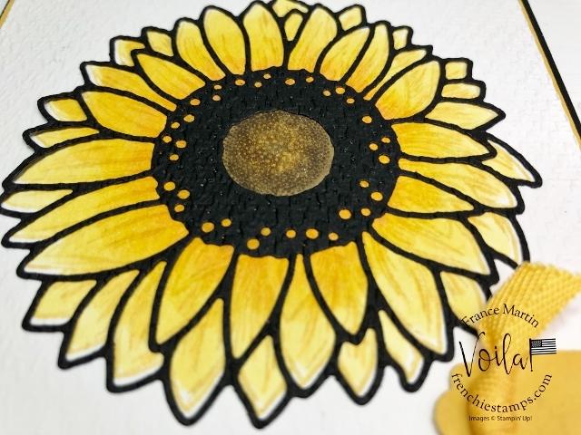Celebrate Sunflowers Emboss Die-Cut.