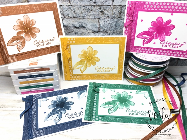 Monochromatic with each Stampin'Up! In-Color 2020-2022.