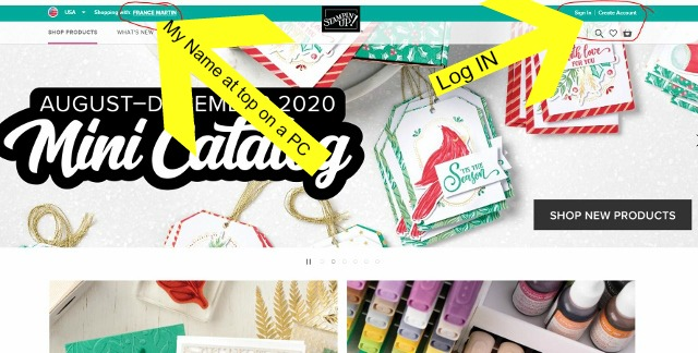 How to Order Stampin'Up! product with Frenchie