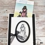 Magical Color Card with Beautiful Moments stamp set.